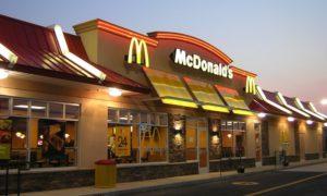 Фасад одного из ресторанов Макдональдс